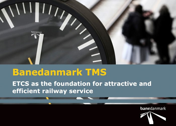 Banedanmark TMS Presentation at TRB